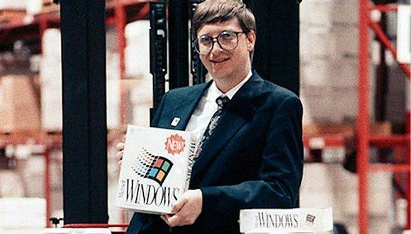 比尔·盖茨正在做人生的第一笔大生意